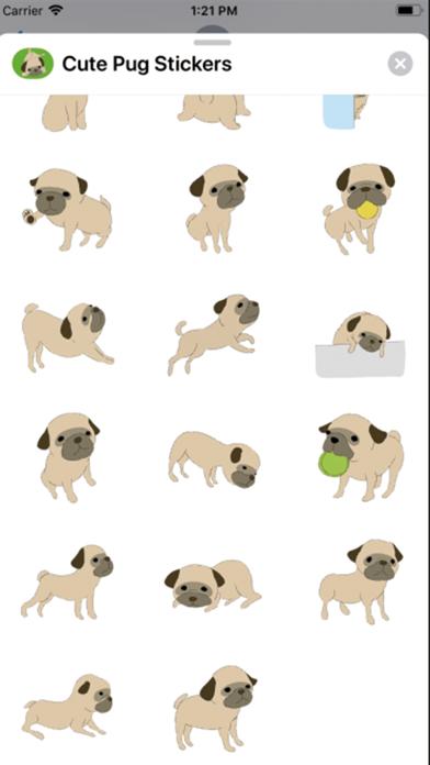 点击获取Cute Pug Stickers !