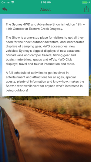 Sydney 4WD Show on the App Store