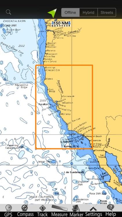 California GPS Nautical Charts screenshot-4