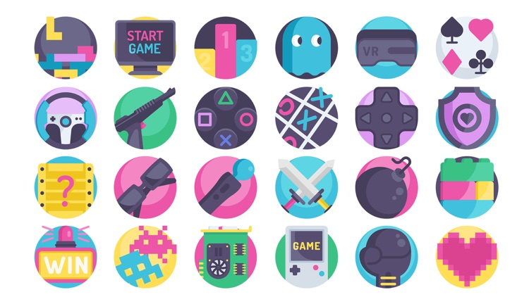 Gaming Stickers.