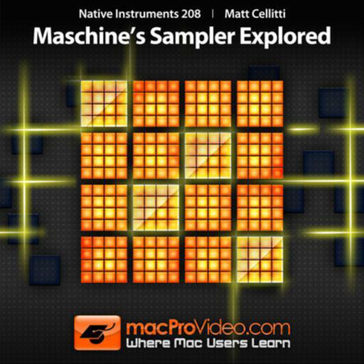 Sampler Explored for Maschine