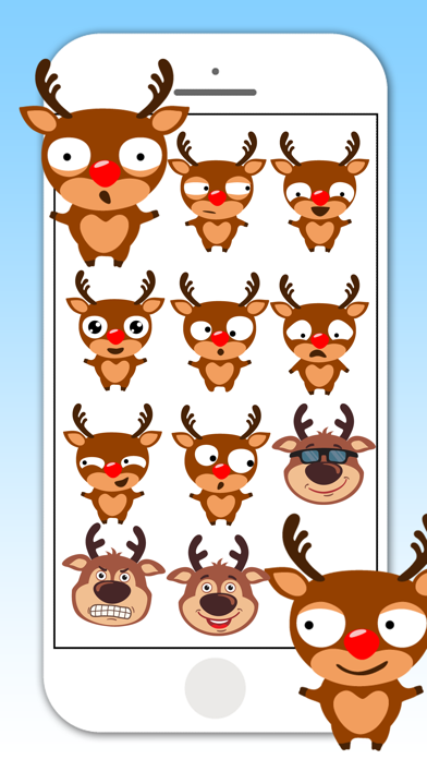 Deer Emojis & Stickers screenshot one
