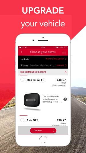 Avis Car Hire On The App Store