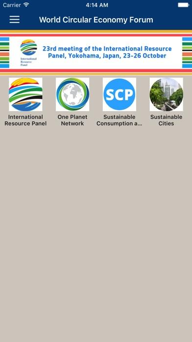 UN Environment Events screenshot three