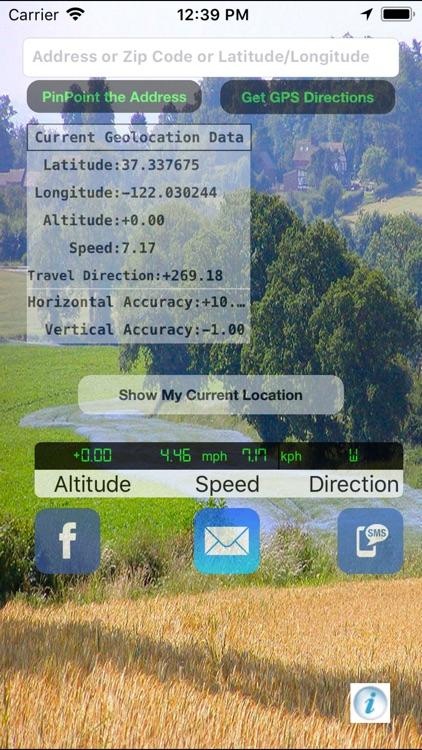 Pin Point Xtra screenshot-0