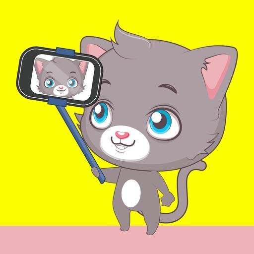 Cute Cat and Kitten Emoji