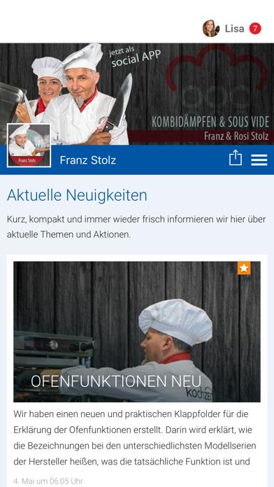 VISUAL ACT - Franz Stolz screenshot 1