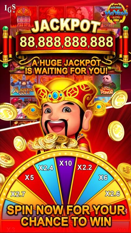 Golden HoYeah Slots - Real Casino Slots screenshot-3
