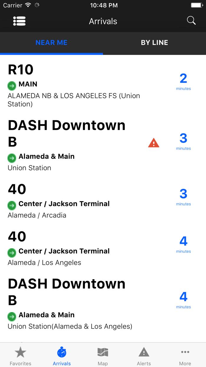 Go Metro LACMTA Official App Screenshot