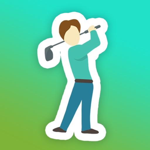 Fore! Golf Emoji