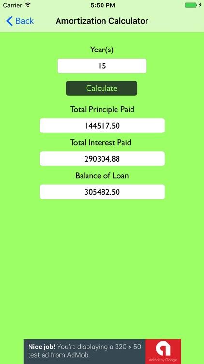 Simple Mortgage Calculator screenshot-3