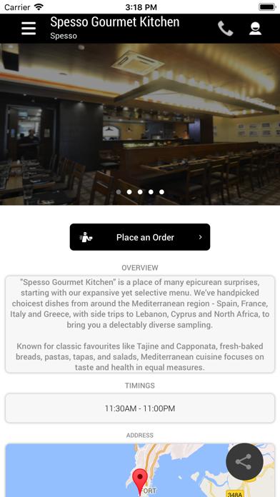 Spesso Gourmet Kitchen screenshot two