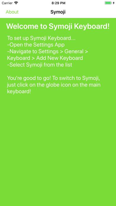 Symoji Keyboard (+Greek) screenshot four