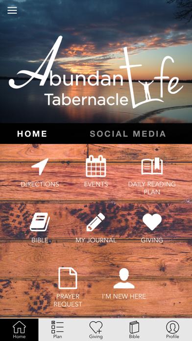 Abundant Life Tab screenshot 2