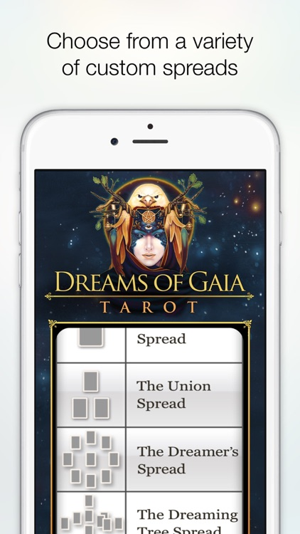 Dreams of Gaia Tarot screenshot-3