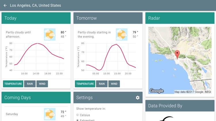 Weather App'