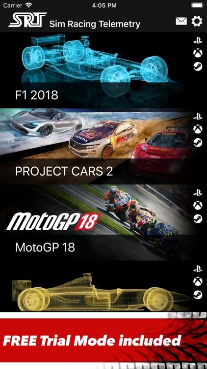 Sim Racing Telemetry by UNAgames