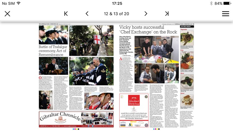 Gibraltar Chronicle Newspaper screenshot-4