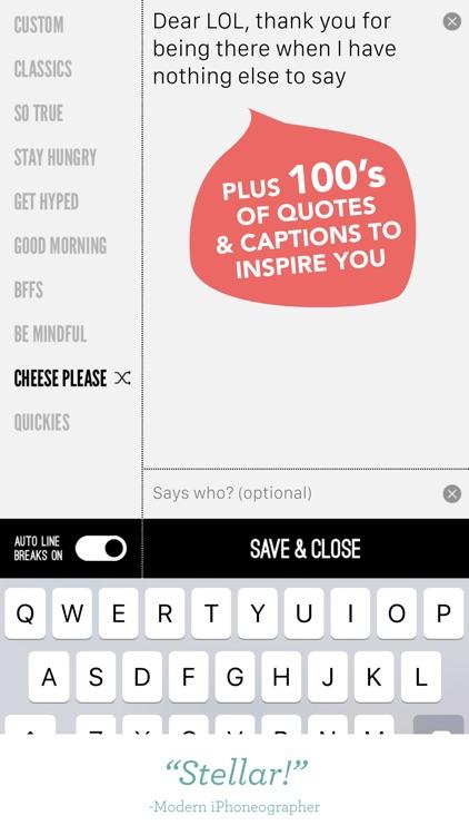 Word Swag - Cool Fonts screenshot-4