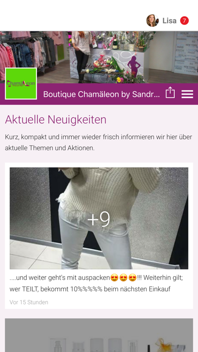 Boutique Chamäleon by S.Schade screenshot 1