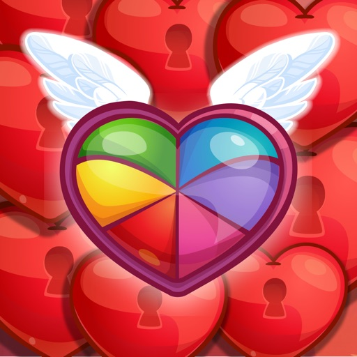 Sweet Hearts Match 3 Icon