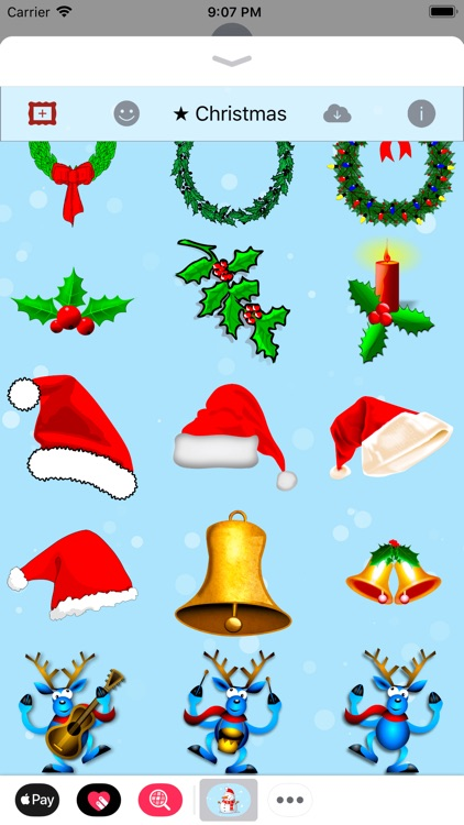 Merry Christmas • Stickers screenshot-4