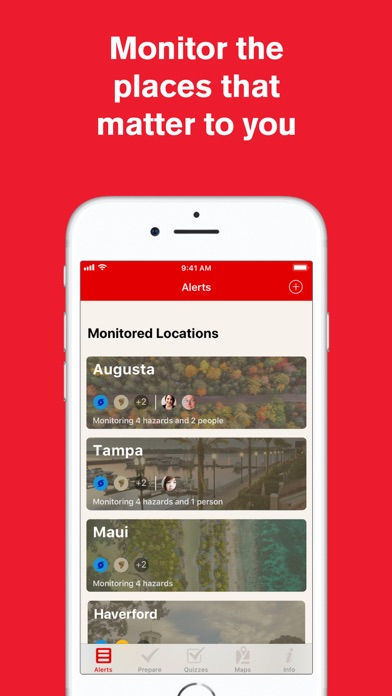 Hurricane: American Red Cross for Windows