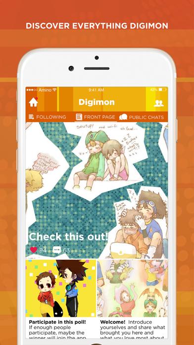 Amino for Digimon