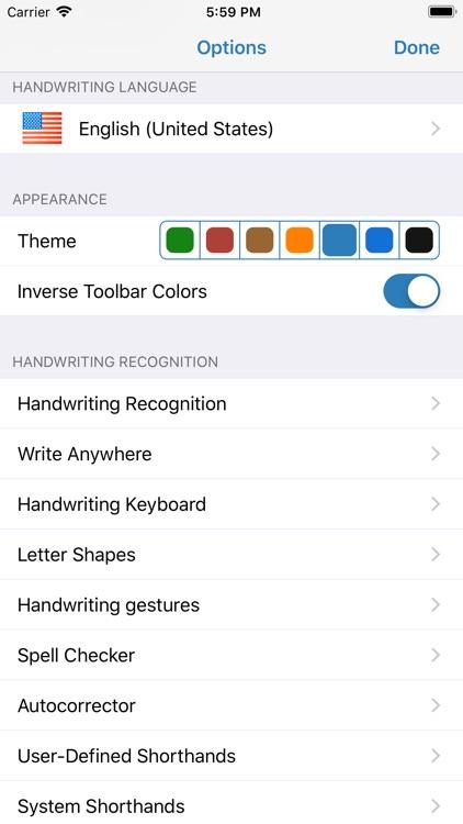 WritePad Professional screenshot-7