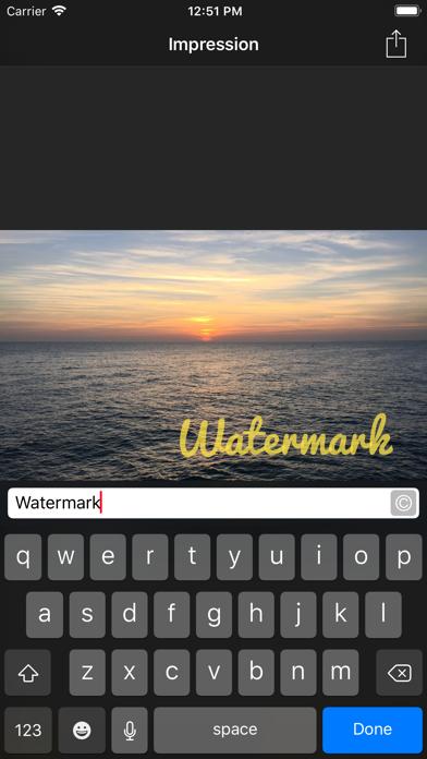 Impression review screenshots