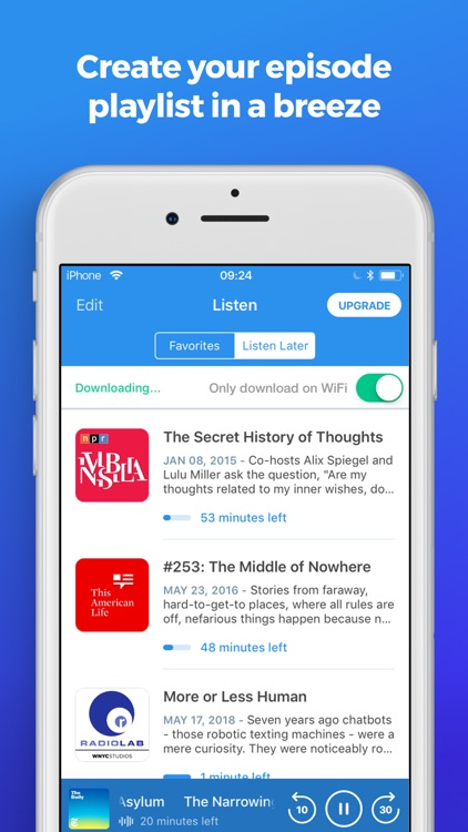 The Podcast App screenshot-4