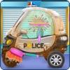 Baby Police Car Wash