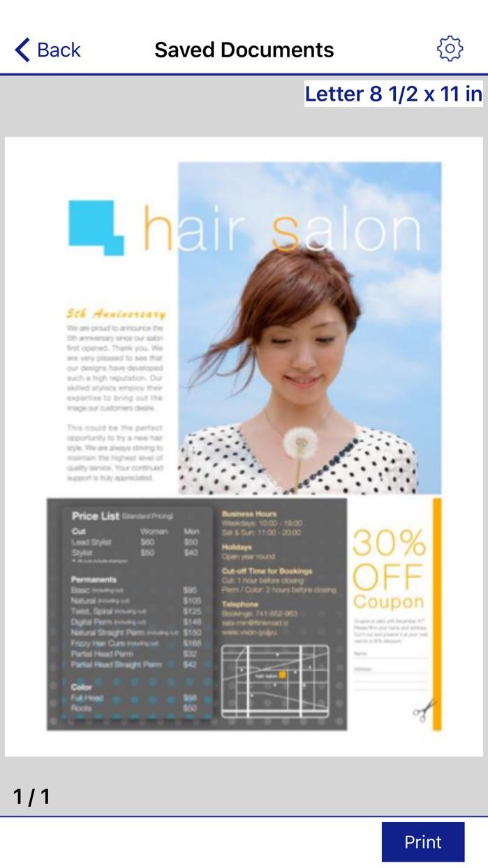 Epson iPrint Screenshot