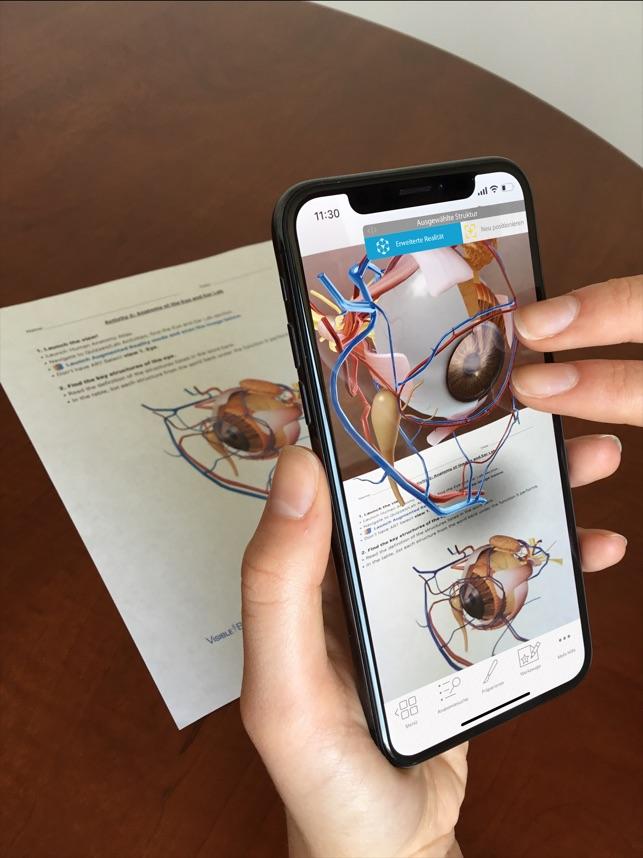 Atlas der Humananatomie 2019 im App Store