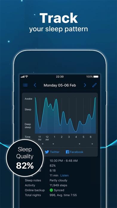 Sleep Cycle alarm clock app image