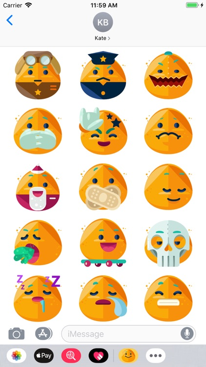iSmiley Emoji Stickers screenshot-4