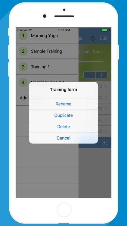 Yoga Timer for interval yoga trainings screenshot-4