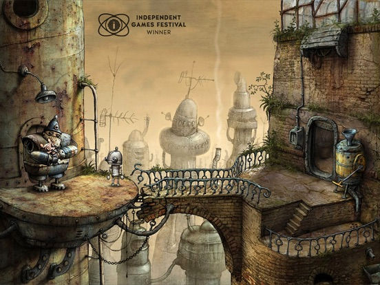 Игра Machinarium