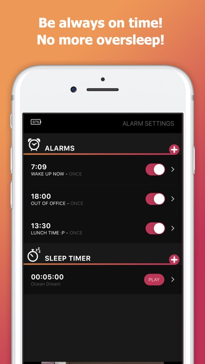 myAlarm Clock: Alarm Clock App screenshot-5