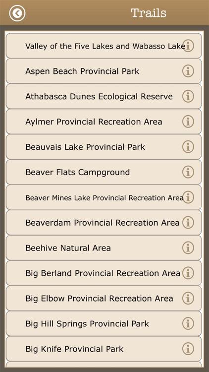 Great - Alberta Camps & Trails screenshot-3
