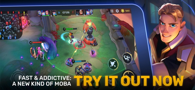 Planet of Heroes - MOBA 5v5 Screenshot