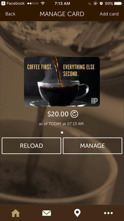 Peet's Coffee screenshot-3