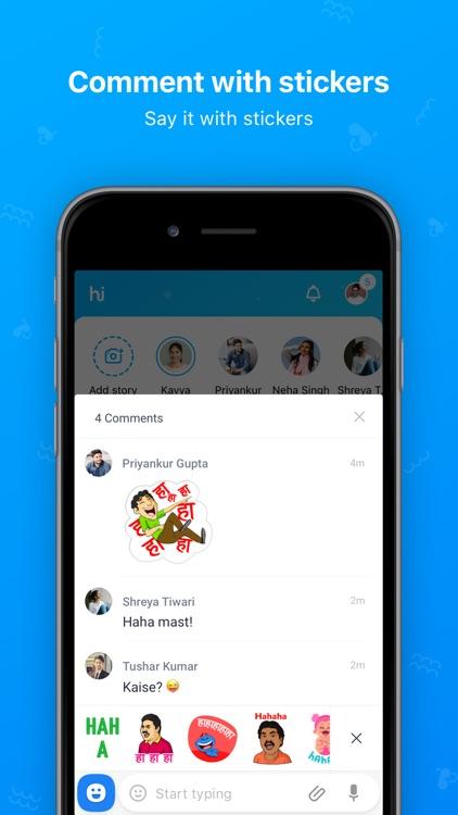hike 6.0 (StickerChat) screenshot-3