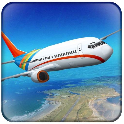 Летный самолет-симулятор 3D