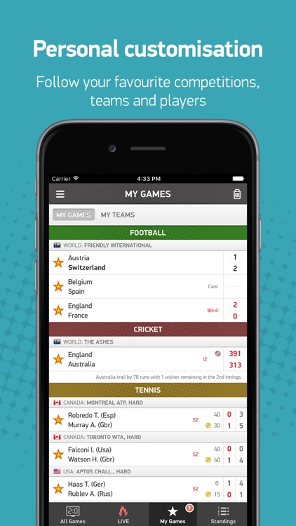 FlashScores.co.uk screenshot-3