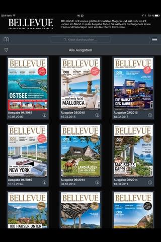 BELLEVUE - Immobilien-Magazin - náhled
