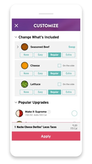 Taco Bell on the App Store Taco Bell Application Form Printable on taco bell special offers, del taco printable application form, taco bell online application, taco bell introduction, taco bell contact information, taco bell home,