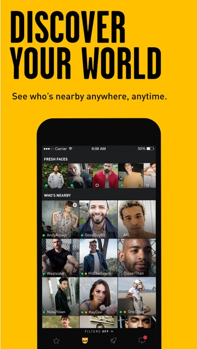Grindr - Gay chat screenshot 1