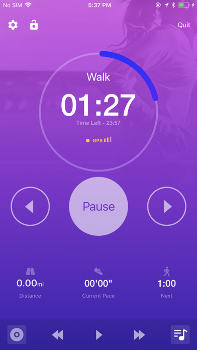 Couch to 5K® - Run training app image