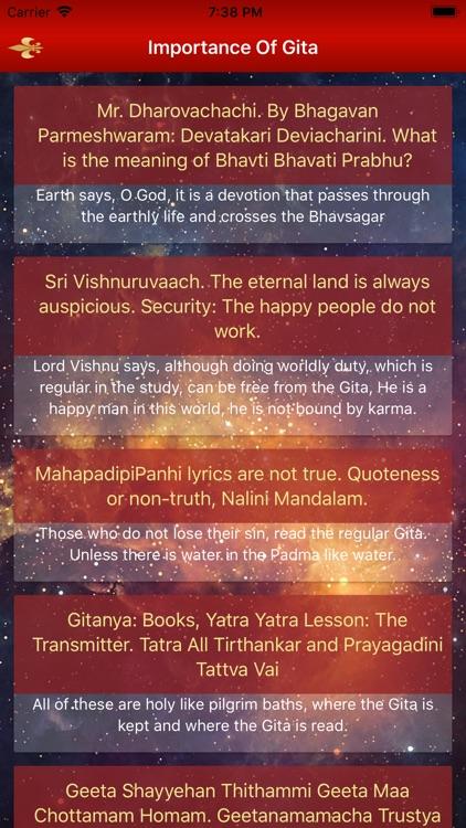 Bhagavad Gita With Video screenshot-4